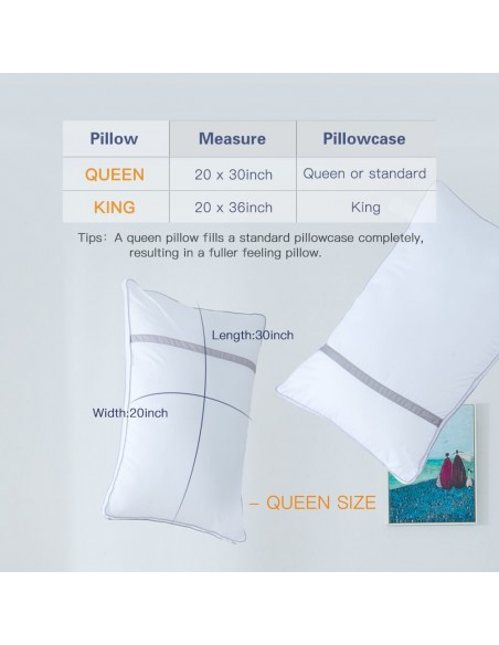 BedStory Pillow queen