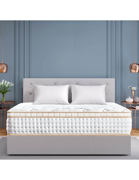BedStory Gel Infused Memory Foam Mattress with Pocket Coil